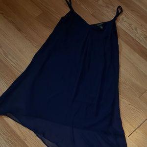 WHBMarket sheer navy dress